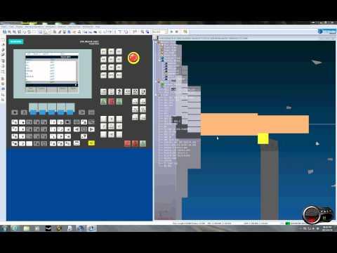 CNC lathe programing (first attempt at g-code programing)
