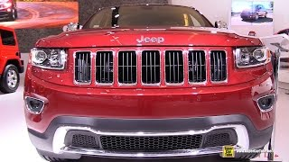 2015 Jeep Grand Cherokee Limited - Exterior and Interior Walkaround - 2015 Montreal Auto Show