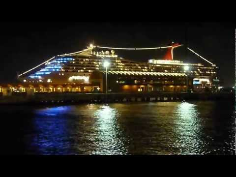 Carnival Victory cruise ship docked in Old San Juan, Puerto Rico (January 1, 2012)