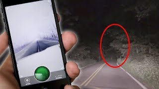we used a ghost tracker on clinton road...