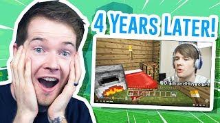 I Played My OLD Minecraft XBOX World!