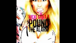 Nicki Minaj - Pound The Alarm Instrumental