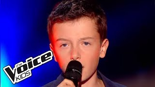 The Voice Kids 2015 | Lisandru - Un jour au mauvais endroit (Calogero) | Blind Audition