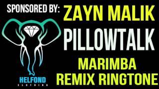 Zayn Malik Pillowtalk Marimba Remix Ringtone and Alert.