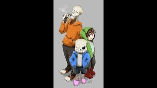 Stronger Than You storyshift chara/ underswap papyrus/ sans (SUB ITA)