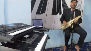 Lag ja gale Saxophone instrumental by Sunder  Yadram  8140153288