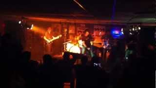 """Jim Breuer covers AC-DC's """"Walk All Over You"""" at Bernies in Chester, NJ (02/28/2012)."""