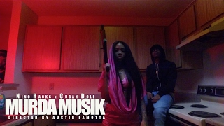 Nino Rack$ x Cuban Doll | Murda Musik (Music Video) | shot by @AustinLamotta