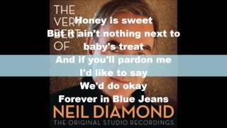 neil diamond- forever in blue jeans lyrics