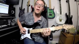 Dance Gavin Dance - Summertime Gladness - Cover By Mike Smith (with tab)