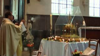 Aimer c'est tout donner Visite Reliques Sainte Therese