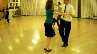Triple Step Swing as dance by James Dilts