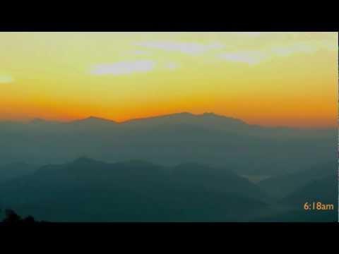 Nagarkot Sunrise Time lapse