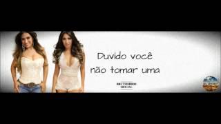 DUVIDO VOCÊ NÃO TOMAR UMA - SIMONE E SIMARIA (AUDIO MUSIC)
