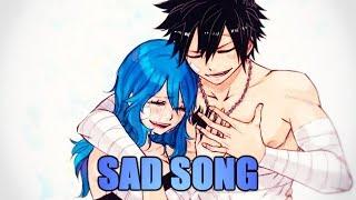 Nightcore - Sad Song (Switching Vocals/lyrics)