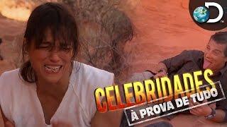 Michelle Rodriguez come rato cozido em seu próprio xixi - Celebridades à Prova de Tudo