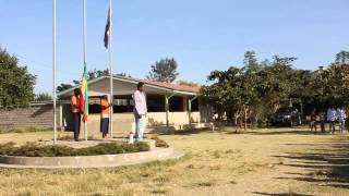 Flagpole Oromo National Anthem