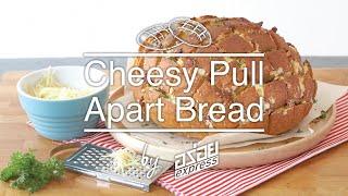 Cheesy Pull – Apart Bread สูตรอาหาร วิธีทำ แม่บ้าน