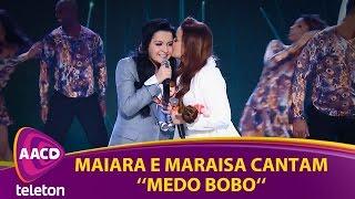 """Teleton 2016 - Maiara e Maraisa cantam """"Medo Bobo"""""""