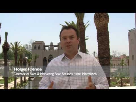 PURE Life Experiences TV Interview – Holger Frehde, Four Seasons Hotel Marrakech