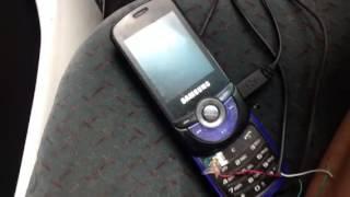 Alarme de carro com celular antigo