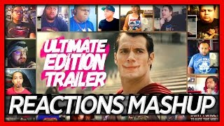 Batman v Superman: Dawn of Justice Ultimate Edition Trailer Reaction's Mashup (18 People)