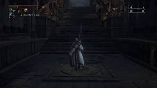 Bloodborne | My fight with The Bloody Crow of Cainhurst