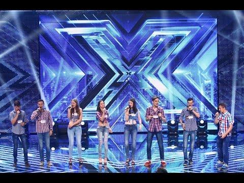 """ABBA - """"Gimme! Gimme! Gimme!"""". Vezi aici cum cântă trupa Crescendo la X Factor!"""