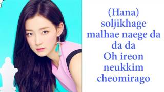 Gugudan   A Girl Like Me Romanization Lyrics