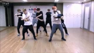 BTS Boy In Luv Dande Practice (Mirrored, Speed Up)
