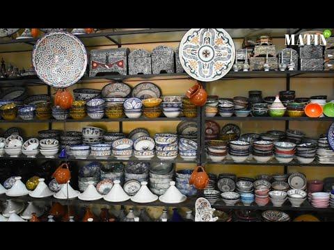 Video : Complexe de l'Oulja à Salé: L'artisanat marocain, un art ancestral qui a besoin d'être mis en valeur