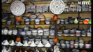 Complexe de l'Oulja à Salé: L'artisanat marocain, un art ancestral qui a besoin d'être mis en valeur