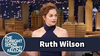 Ruth Wilson Re-Enacts a War Movie Death Scene