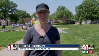 Roeland Park erects new sculpture at 'R Park'