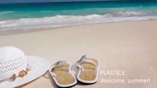 "Plastic3 - ""Welcome Summer!"" - happy royalty free music"