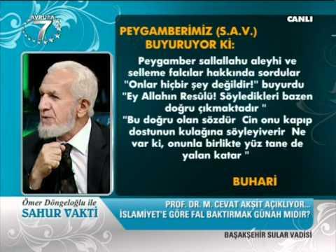 Fal Kahve Falı Yıldızlara baktırmak Caizmi Dogrumu Islam Prof. Dr. Cevat Akşit
