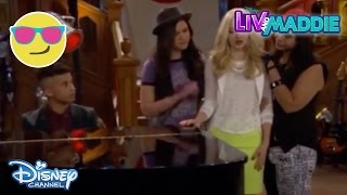 Liv And Maddie: Cali Style | Voice-a-Rooney | Liv Tries Sing | CLIP | Official Disney Channel US
