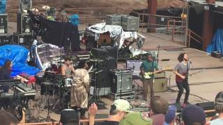 The Main Squeeze Opening Band Red Rocks