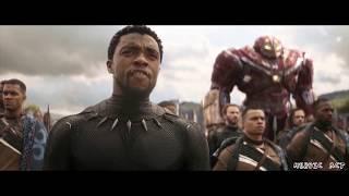 Thor chegando em Wakanda | Dublado HD | Vingadores: Guerra Infinita (2018)