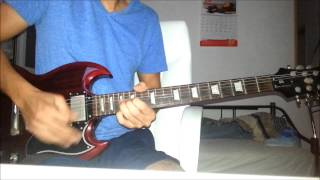 The Eagles - Hotel California Guitar solo cover ---- HQ