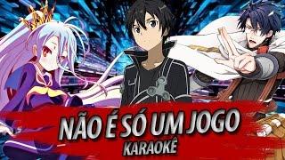 """""""Não É Só Um Jogo, É Minha Vida"""" (Instrumental/Karaoke)"""
