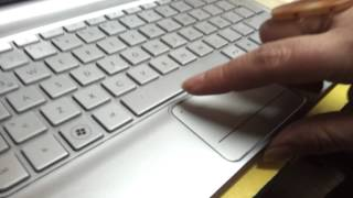 Activar y desactivar Touch pad Hp (Led naranjo)