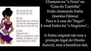 A Mana Fatita de Angola e a Morena da Angola Brasileira