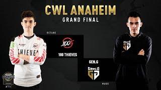 100 Thieves vs Gen.G   CWL Anaheim 2019   Grand Final