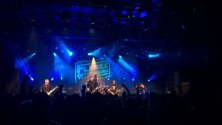 in flames live, paralyzed solo