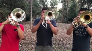 Seccion de Trombones de la Arrolladora Banda El Limon