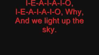 System of a Down - I-E-A-I-A-I-O Lyrics