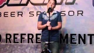 Eric Austin sings Breathe's Hands To Heaven