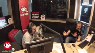 Prima zi cu Sergiu și Andrei la Kiss FM