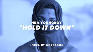 """*SOLD* """"Hold It Down"""" 